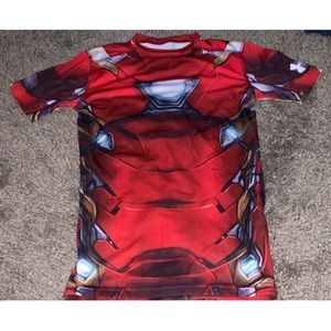 Men's under armour iron man shirt